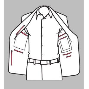 Traveler's Jacket – All pockets zippered